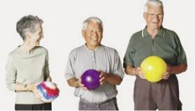 Osteoporosis fitness class, Victoria